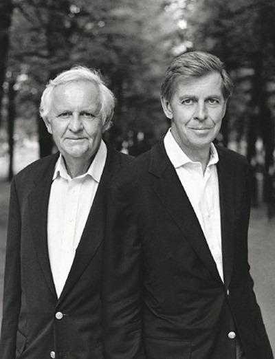 Hai nhà sáng lập Oriflame Jonas và Robert af Jochnick