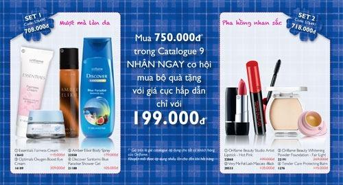 Qua tang Oriflame 9-2012 - 2