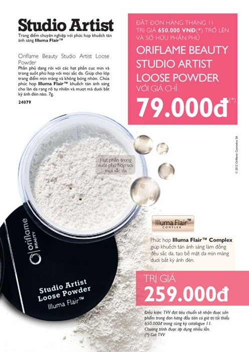 Oriflame Beauty Studio Artist Loose Powder - Page 2