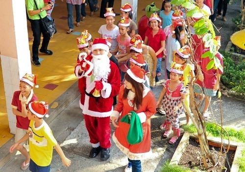 Oriflame Vui Noel Cung Tre Em Tam Binh 2