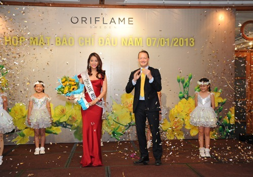 Dai su thuong hieu Oriflame 2