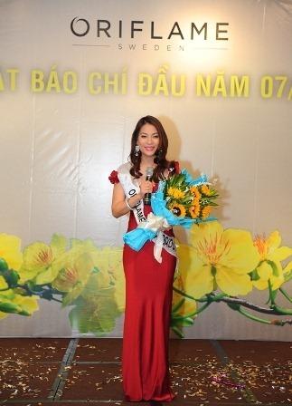 Dien vien Truong Ngoc Anh – Nguoi dep Viet dong hanh cung Oriflame Viet Nam - 1