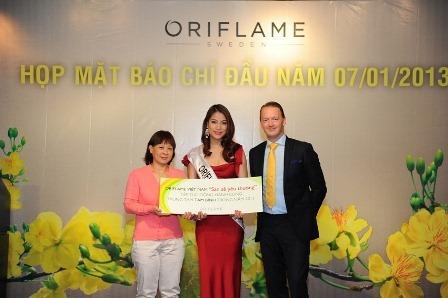 Dien vien Truong Ngoc Anh – Nguoi dep Viet dong hanh cung Oriflame Viet Nam - 4