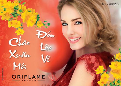 Oriflame 1-2013 - Chuong Trinh Set Qua Tet - 1