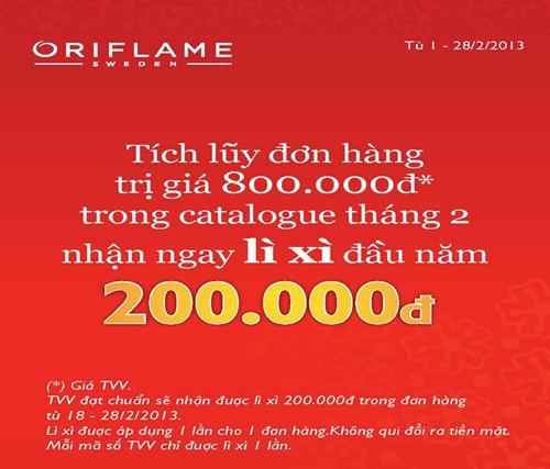 Oriflame Li Xi Tet 2013 - 03
