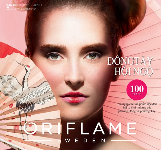 Catalogue My Pham Oriflame 8-2014