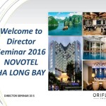 Oriflame Director Seminar 2016 - 1