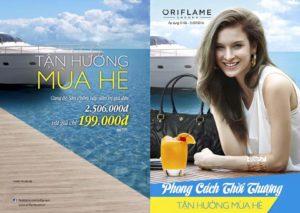 Oriflame 6-2016: Chương trình bộ quà set